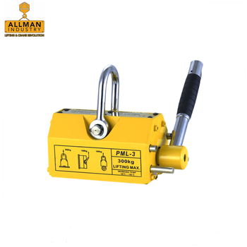 best selling steel plate magnet lifting equipment 3.5times safety permanent magnetic lifter