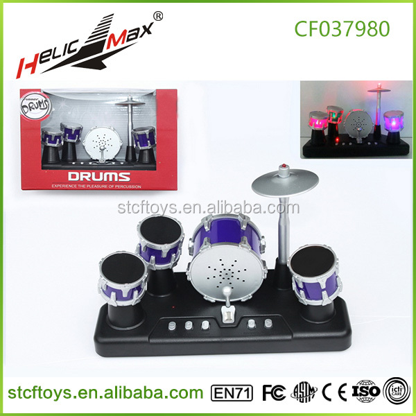 Mini electronic drum kit toy musical instrument finger jazz touch drum set toy