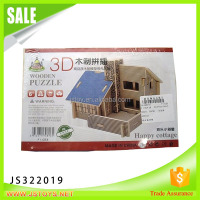new kids items puzzle wood 3d from china
