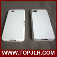 Made in china Plastic pc case with sublimation insert for blackberry Z10