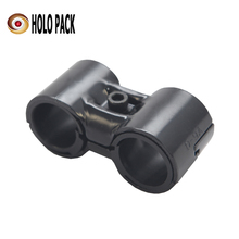 32.8mm HDF-11 Black Cold Rolled Steel Roller Combinable Joint pipe saddle clamp