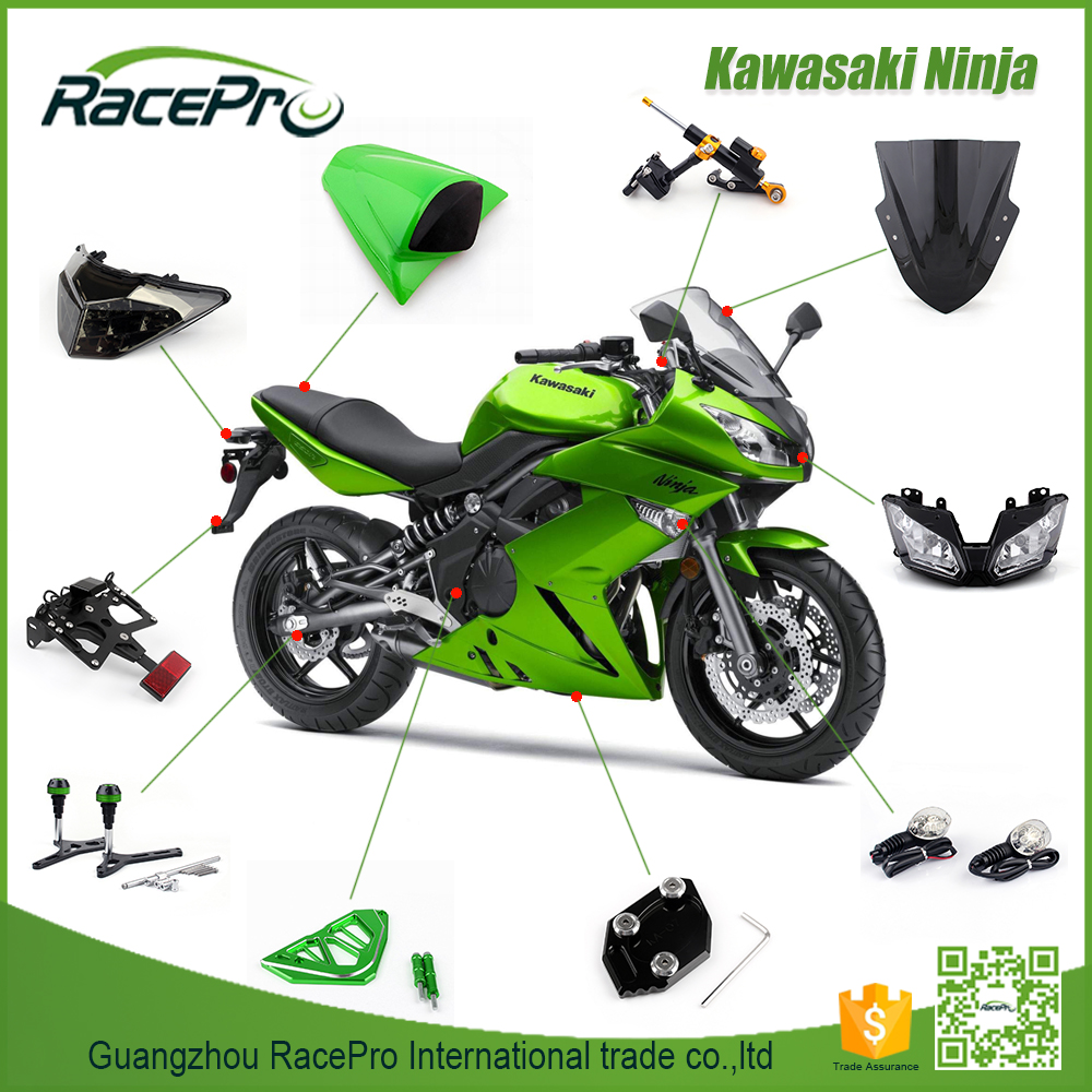 For Kawasaki Ninja 250 300 Custom Sport Bike Parts Wholesales