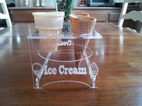 Special most popular clear acrylic stackable candy bins