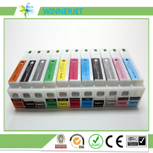 2 sets/lot disposable ink tank for epson pro 7900 printer, 350ML pigment ink cartridge compatible for epson 9900 plotter