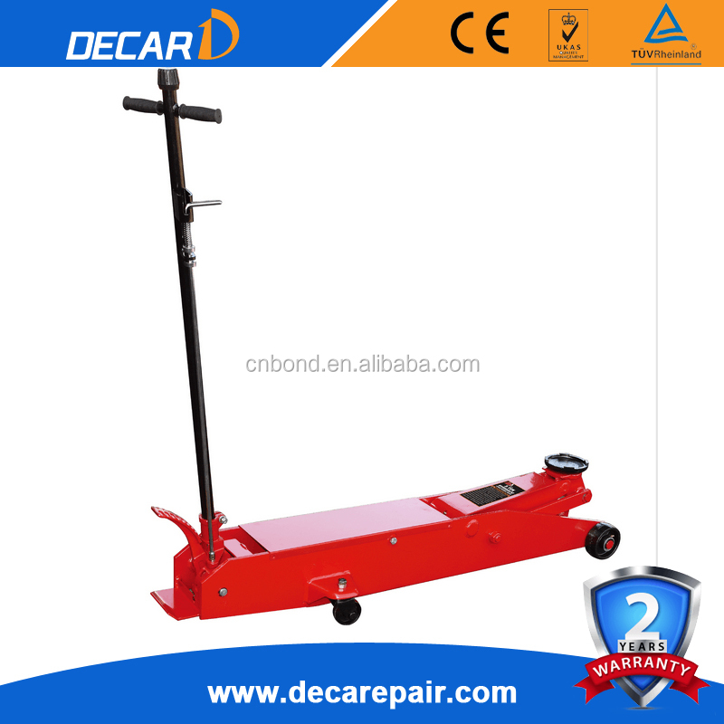 2.5 Ton,3tons and 5Ton long crocodile jack hydraulic trolley jack manual and portable car floor Jack