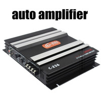 Bass Car Channel Stereo Mini Computer Car Amplifier Subwoofer Out Amplifier audio amplifier 2 way output 12V 300W