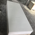 "10""*20"" Vertical Pattern Solid White Cultured Marble Shower Surround for Canada and US Hotel Bathroom"