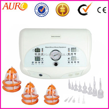 Au-6802 nipple breast enlargement pump big suction cup for breast massager