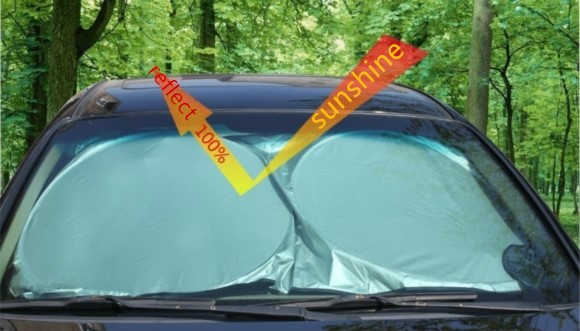 CAR THICK SHADE REAR HEAD BACK SIDE WINDOW COVER
