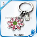 flower shaped metal key holder