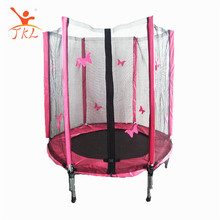 4.5FT Pink super jump trampoline on sale