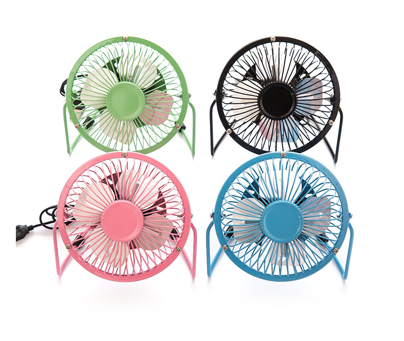 Hot sale Summer 360 Rotation Rechargeable Electric Table USB Fan