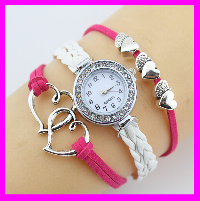 KDA365 Latest 2016 wholesale woman fancy bracelet watch