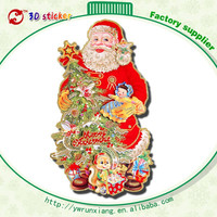 Good quality removable glass sticker merry christmas wall sticker L