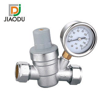 Customized forged lead free brass male threaded adjustable water pressure relief valve