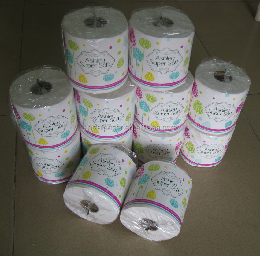 Printed Tissue Paper Toilet Rolls Manufacturer in China