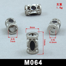 High quality locking end personalize shapes custom gun metal clothing
