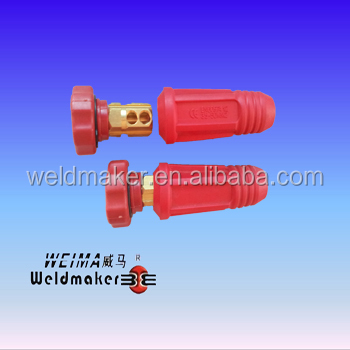 Thailand type Cable connector/jointor 35-70mm2 for welding machine