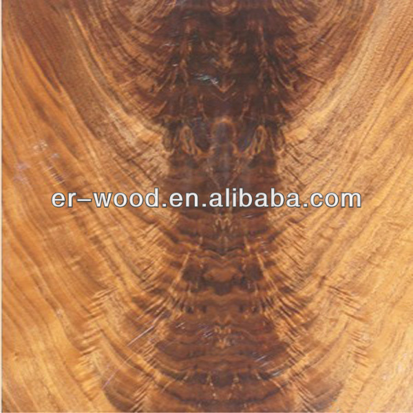 high quality mahogany crotch for decoration
