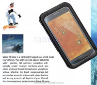 Plastic Flip Mobile Phone Underwater Waterproof Phone Case for Samsung Galaxy S6 Edge