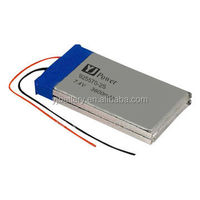 li-polymer battery pack 7.4v 2200mah high quality YJ925570-2S 7.4v 4000 3600mah with rechargeable high efficiency for Lights,