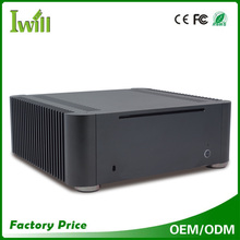 Custom pc casing MPC-T8 fanless mini itx aluminum case