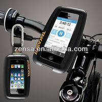 Takashi XX-CB1 Black Waterproof Shockproof Carabiner Protection Case Bike Mount For iPhone