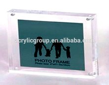 Manufacturer Supplier wholesale desktop acrylic photo frame with certificate