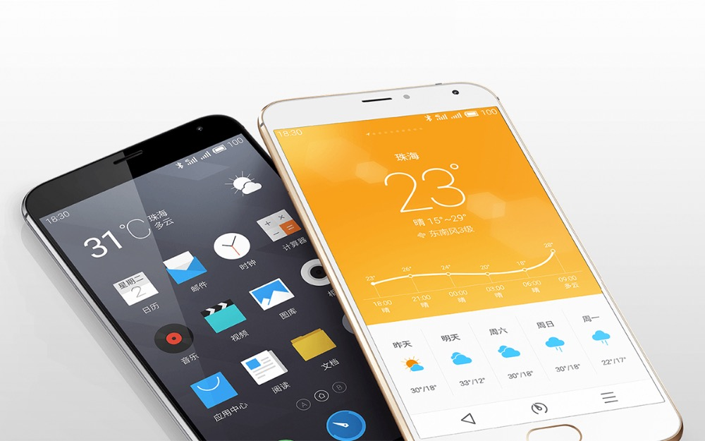Original MEIZU MX5 5.5 inch Capacitive Screen Flyme 4.5 Smart Phone, Helio X10 Turbo Octa Core 2.2GHz, ROM: 32GB, RAM: 3GB, Supp