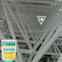 Ultra-thin type inflated fire rated paint, intumescent fire rated paint for steel