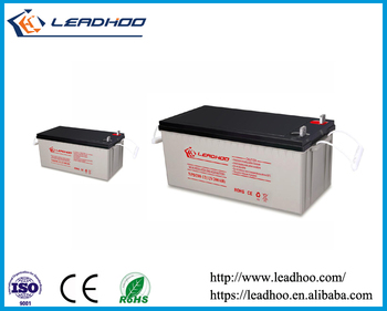 12V 200AH VRLA Batteries For Inverter Solar