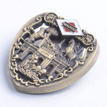 Madrid Souvenirs 3d Heart Shape Metal Material Fridge Magnet