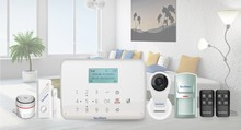 Security Guard Equipment Wireless Home Einbrecher GSM Alarm System mit APP Operationen