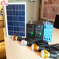 Portable Solar Lighting System for Indoor