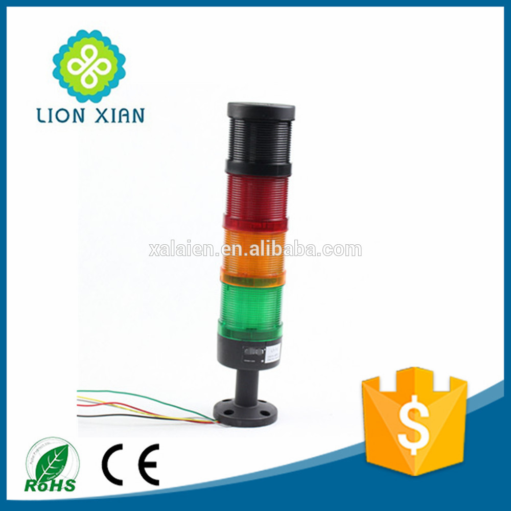 multi-layers super bright led signal tower light buzzer