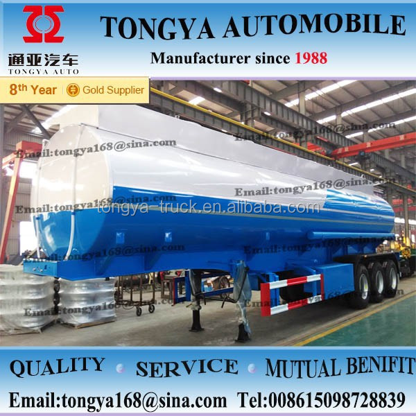 2015 china quality made 36000 litres fuel tanker semi trailer manufacturer