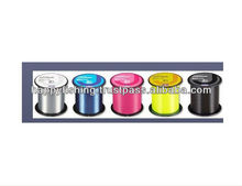 500M long Nylon material monofilament fishing line in 5 colors for ocean fishing