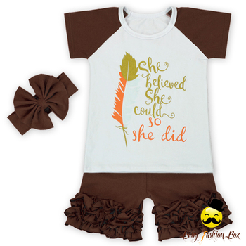 Baby Peuters Zomer Icing Korte Outfit Zomer Kids Outfits kinderkleding Zomer Boutique Kleding