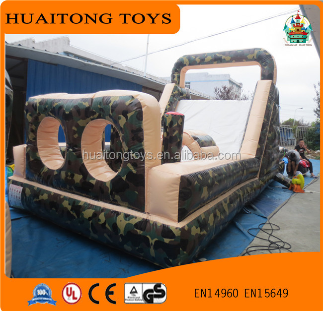 High quality about fun city / Outdoor inflatable obstacle course for sale
