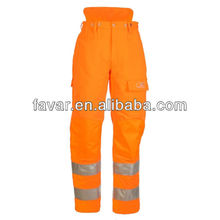 EN 471 Class 2 High Vis Chainsaw Trouser