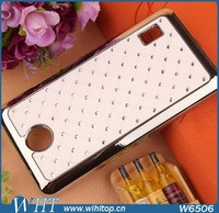 Mobile Phone Accessory Chromed Plastic Hard Back Cover for Huawei Ascend Y635