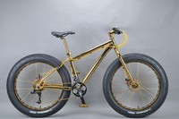 Luxurious 18K 26 inch fat bike 12 inch bmx bike