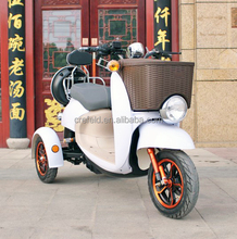 800w hub motor e-bike mountain bike Electric auto cycle RickShaw Three Wheel bicycle electric with frount basket