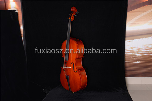 Promotional Beginner Plywood Instrument Cello