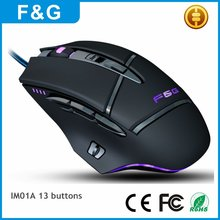 2017 Latest Model Computer Mouse OEM Gaming Mouse For Gaming