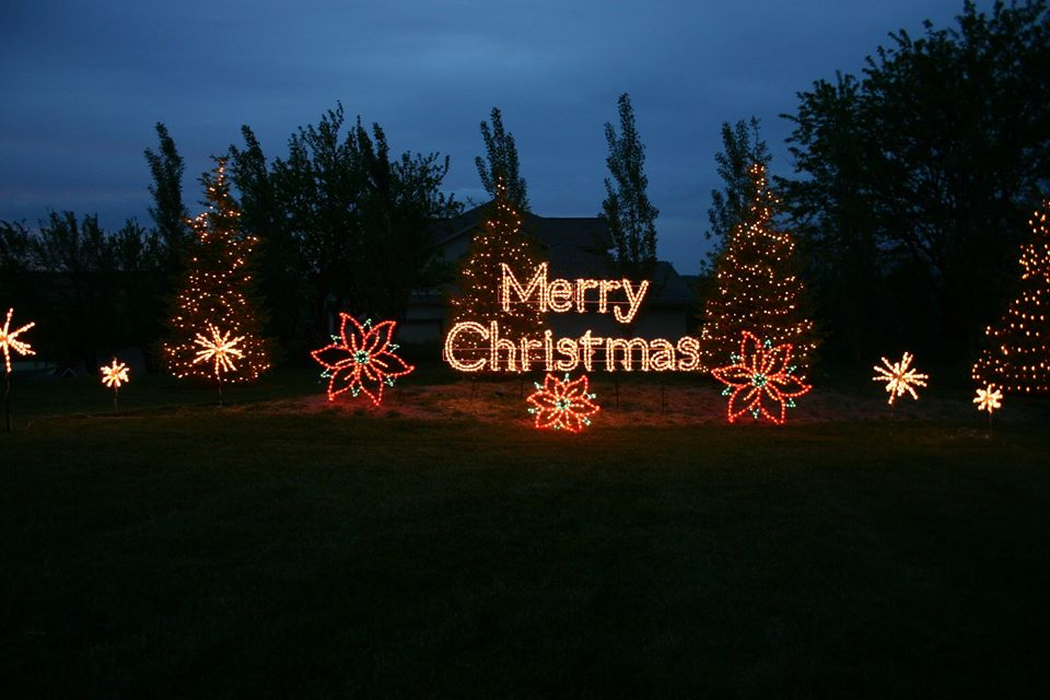 Outdoor Christmas Motif Lights