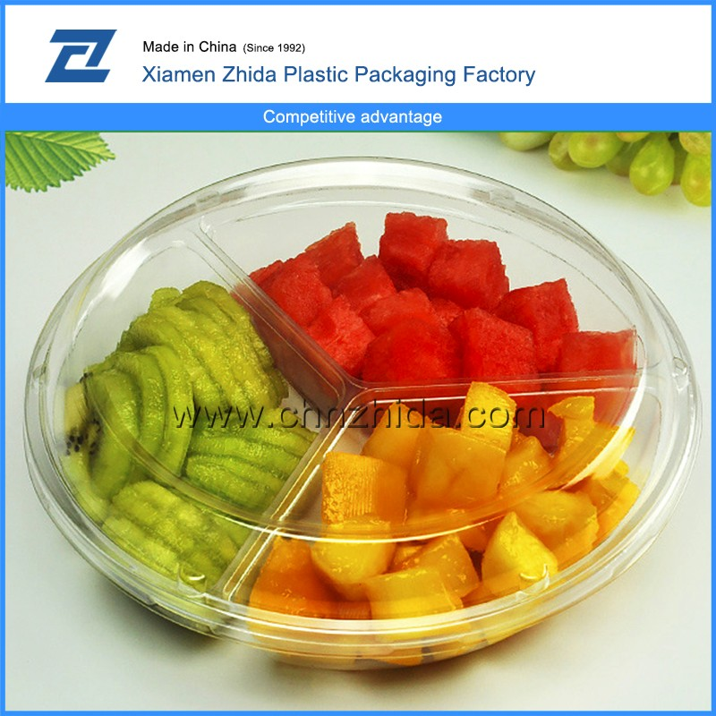New products wholesale clear plastic fruit drip tray