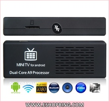 Android 4.1 Dual Core RK3066 1.6GHz 8GB Android TV Player Mini PC with Wi-Fi & HDMI Output