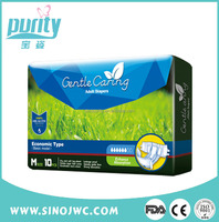 Competitive Price New model baby print adult diaper