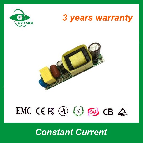 CE Isolated Constant Current 4-7W LED Bulb driver 350mA AC 85~265V DC 9~20V